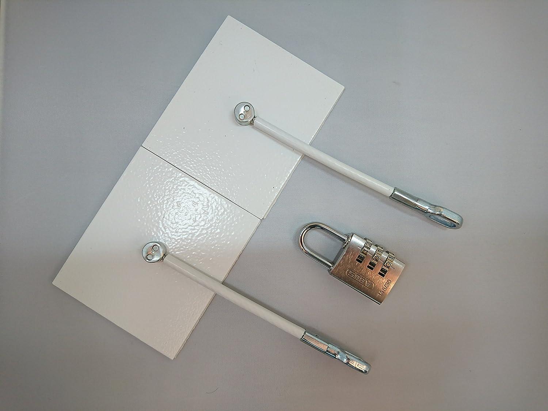 Arcón Congelador puerta cierre – blanco – con candado de ...