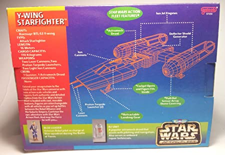 Star Wars Y-Wing Starfighter Action Fleet Set