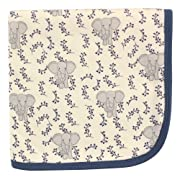 Touched by Nature Organic Receiving Blanket, Elephant