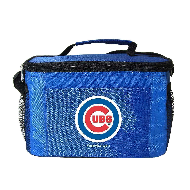 Kolder MLBチームロゴ 6パック クーラーランチバッグ B00M51Q91Q Chicago Cubs Blue Chicago Cubs Blue