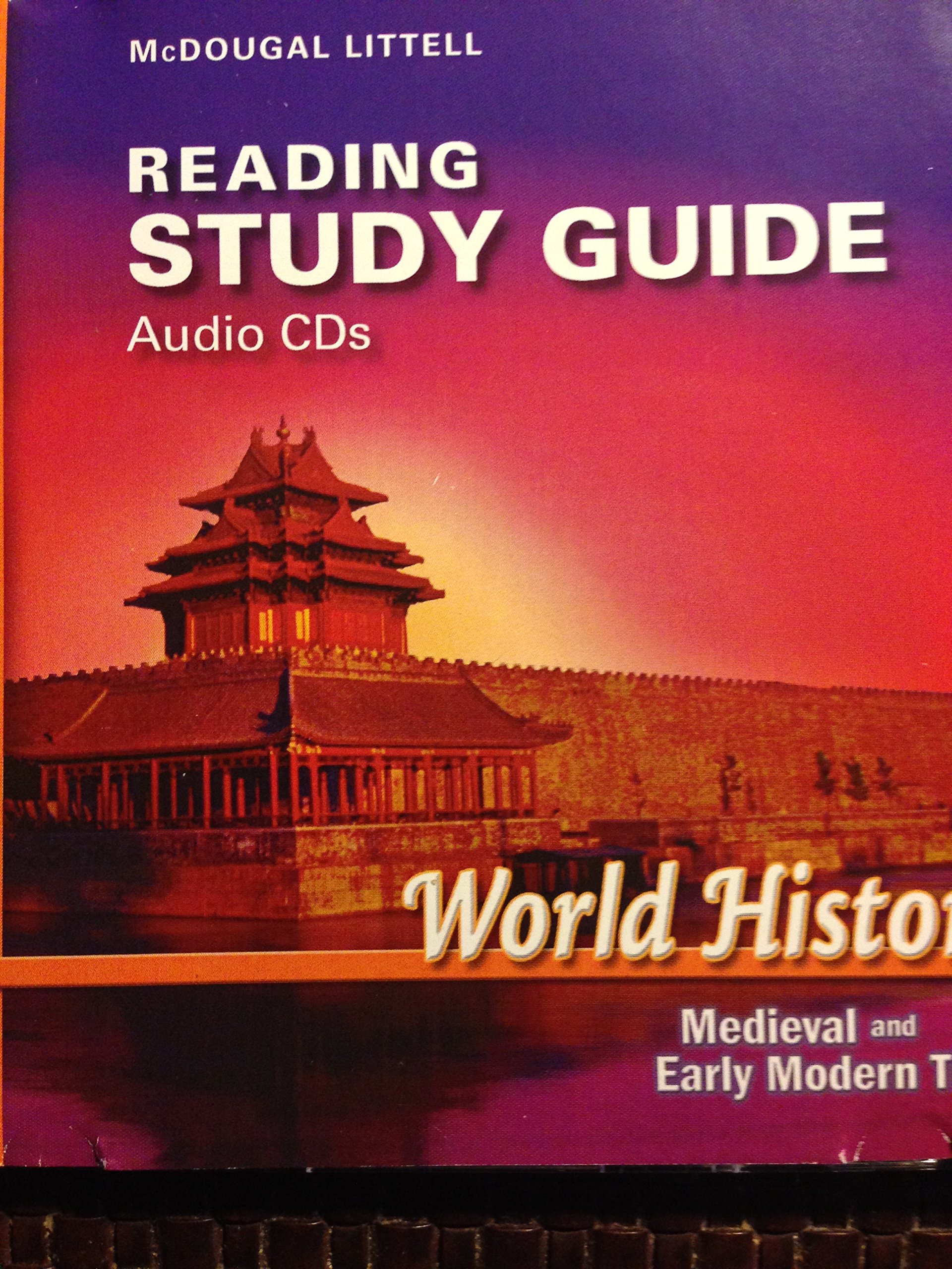 Download McDougal Littell World History: Medieval and Early Modern Times: Reading Study Guide Audio CDs ebook