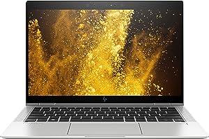 HP EliteBook 4SU71UT 13-13.99 Inch Notebook PC (1.9GHz Intel GMA 3150 Core i7 8650U Processor 16GB RAM 512GB SSD - Windows 10 pro), Silver