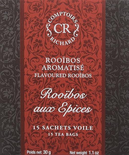 Comptoirs Richard Rooibos Aux Epices 15 Sachets 30 G Lot De 2