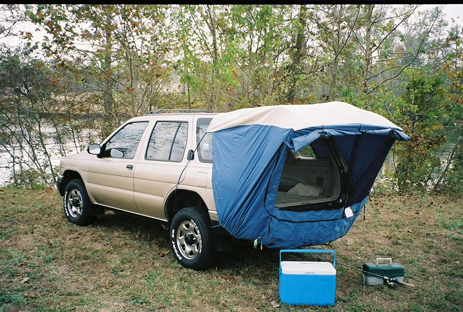 Explorer 2 SUV and Minivan Tent – Best Tent For Vehicles With Lifting Back Doors