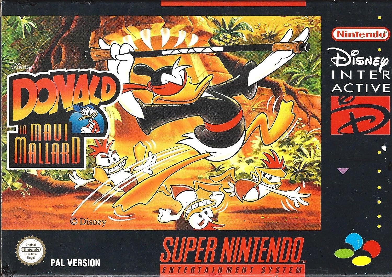SNES Spiel fr Kinder Disneys Donald Duck in Maui Mallard NUR