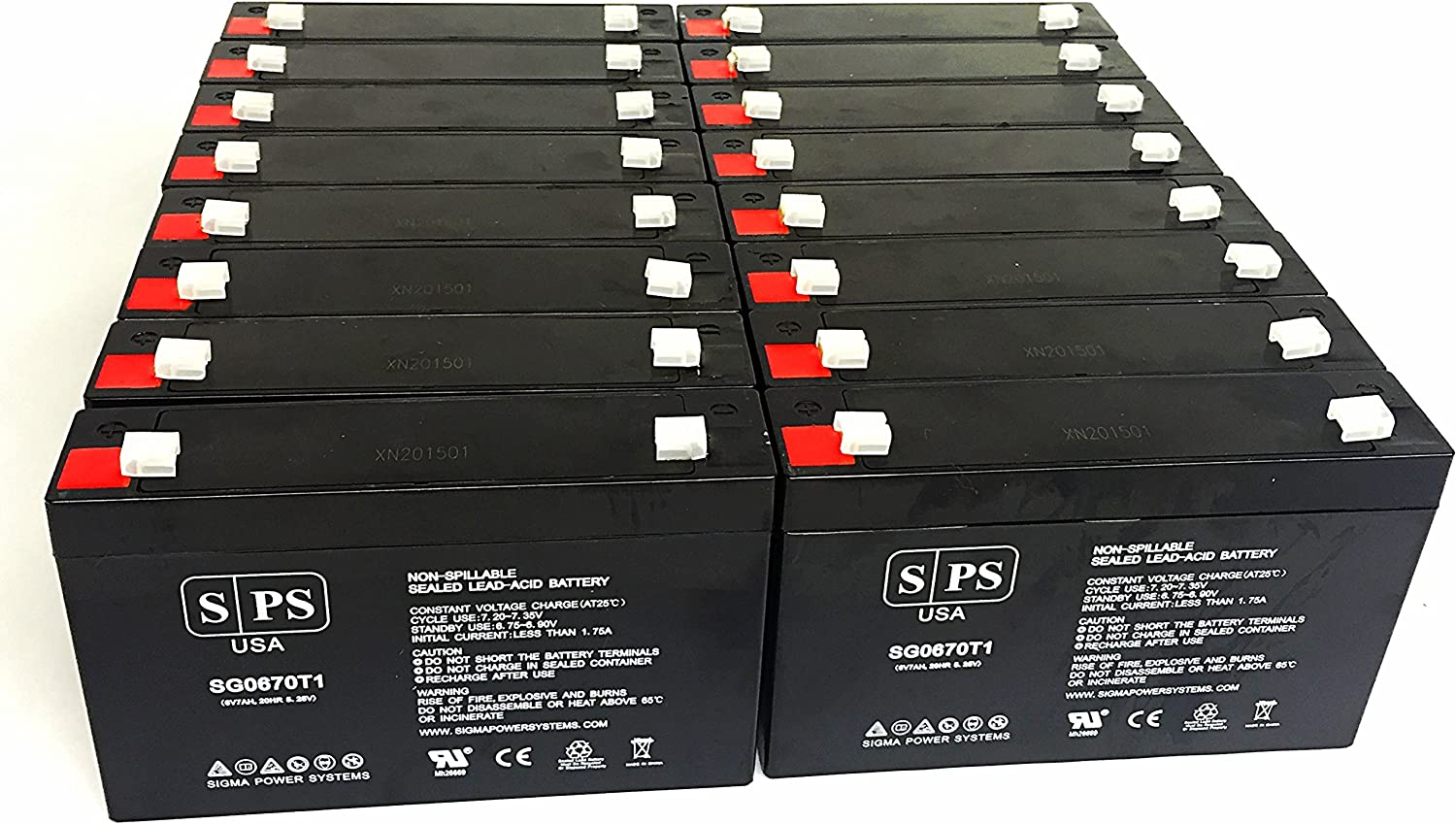 MK ES7-6 Compatible Replacement Battery