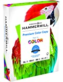 Hammermill Paper, Color Copy Digital, 28lb, 8.5 x 11, Letter,  100 Bright, 500 Sheets / 1 Ream (102467R), Made in the USA