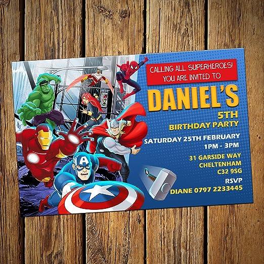 Diseño de martillo de Thor tarjetas de invitación para ...