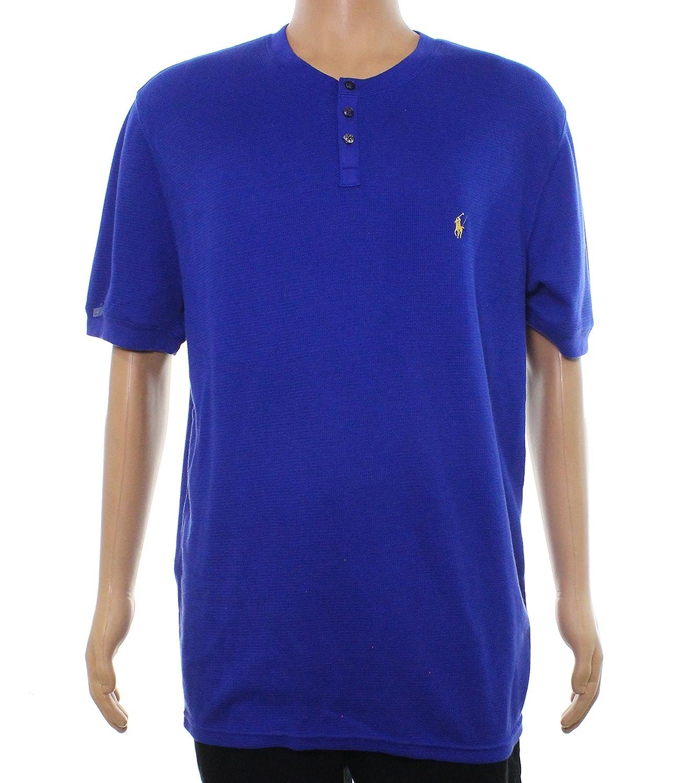 Ralph Lauren Mens Textured Pajama Sleep T-Shirt