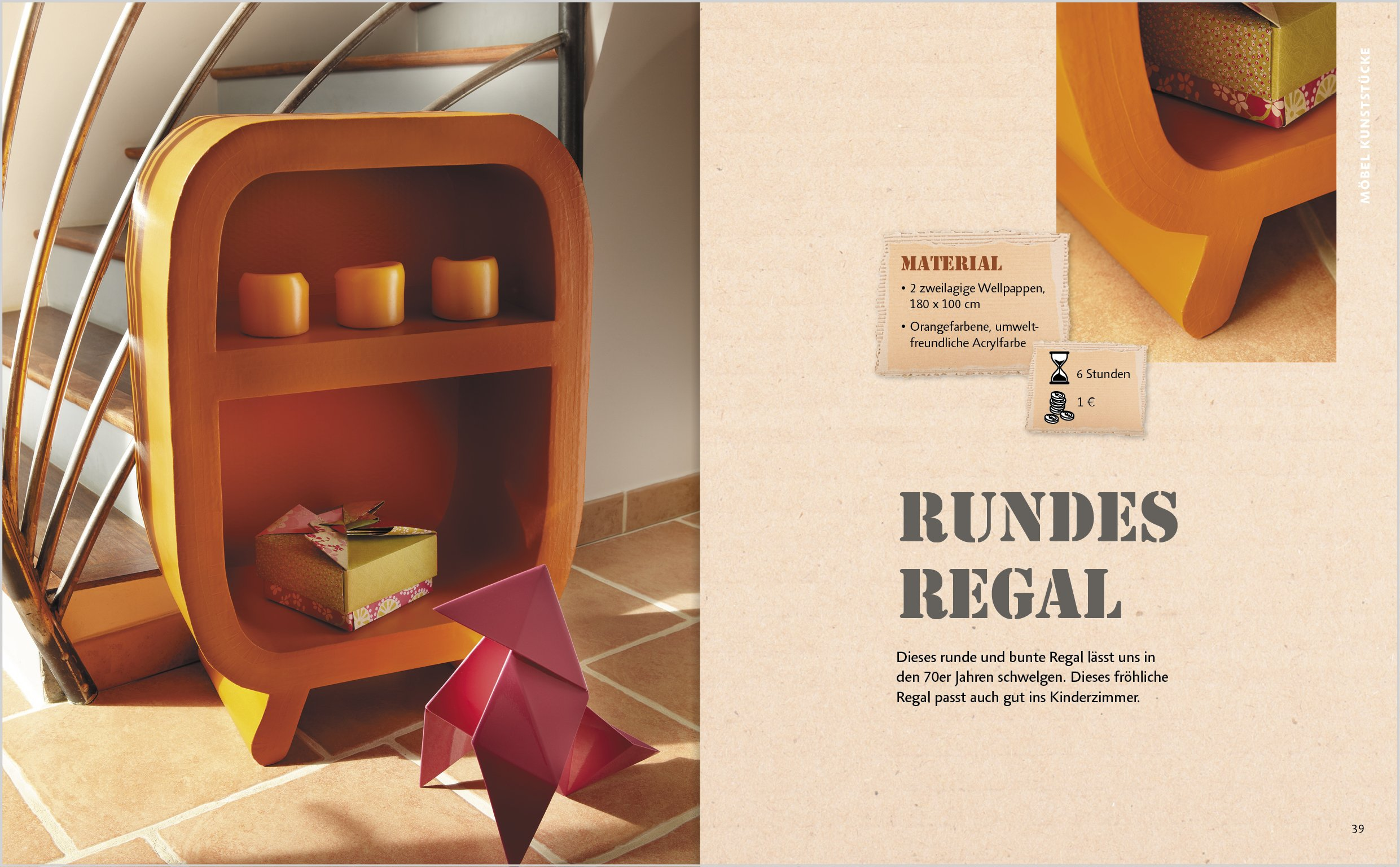 Neue Möbel Aus Karton: 15 Schritt Für Schritt Anleitungen In Wort Und Bild:  Amazon.de: Françoise Manceau Guilhermond: Bücher