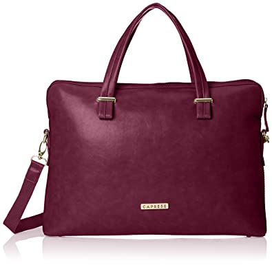 Caprese Women's Satchel Handbag (Purple): Amazon.in: Shoes & Handbags