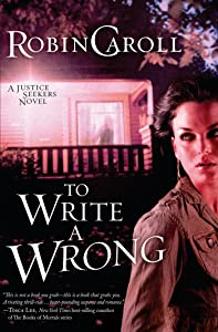 To Write a Wrong (Justice Seekers series Book 2)