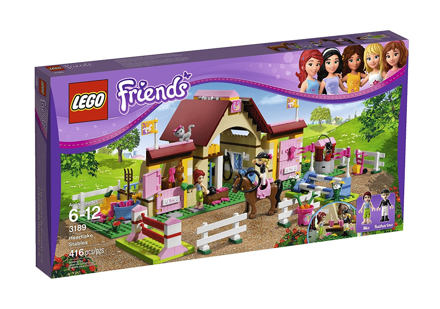 3189 Heartlake Stables Lego friends horse farm
