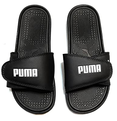 5f3ed42147b Image Unavailable. Image not available for. Color  PUMA Mens Adjustable  Athletic Slide Sandals ...