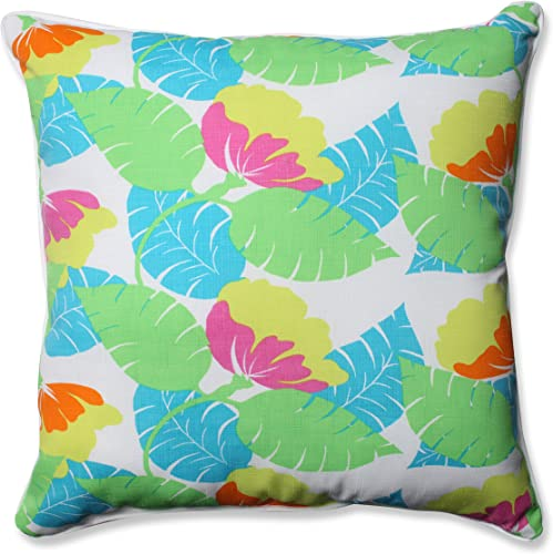 Pillow Perfect Outdoor/Indoor Avia Fiesta Floor Pillow