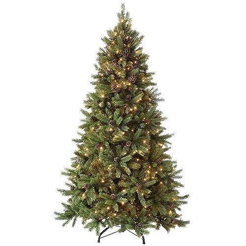 Pre Decorated Christmas Trees: Amazon.co.uk