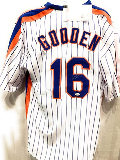 purchase cheap 0a8db 1cd56 Dwight Gooden New York Mets Signed Autograph Custom Jersey ...