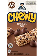 Quaker Chewy Chocolate Chip Granola Bars, 40-Count