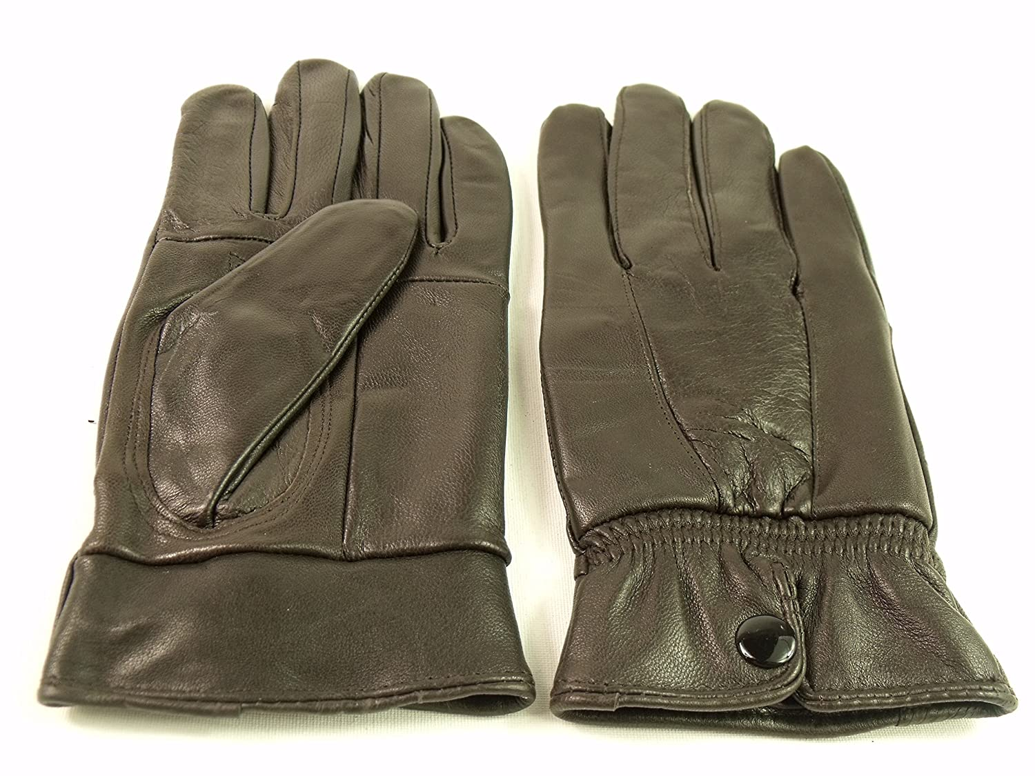 Womens leather gloves australia - Ladies New Soft Leather Fully Lined Gloves By Lorenz 8910 Small Brown Amazon Co Uk Clothing