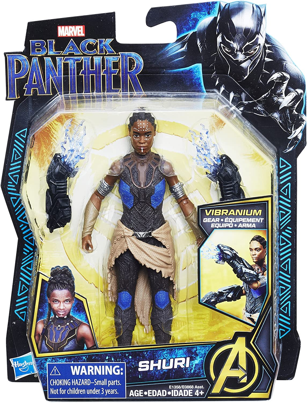 Marvel Black Panther Toy Lot Shuri Avengers Toy Action Figure Vibranium
