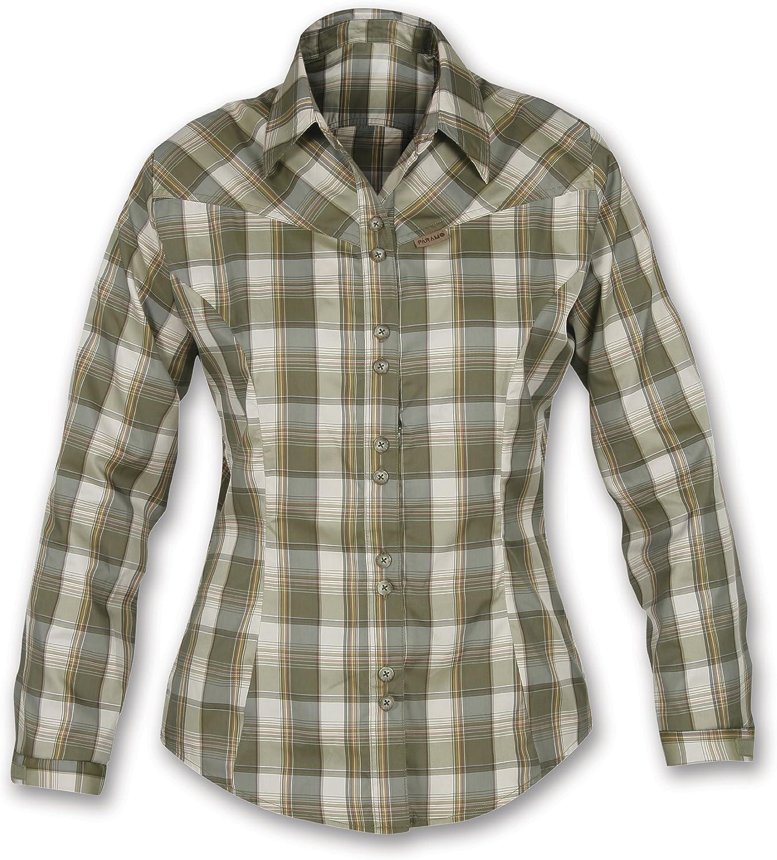 Páramo Sakura - Camisa de Senderismo para Mujer Verde Verde Oscuro Talla:Large: Amazon.es: Ropa y accesorios