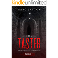 The Taster (An Investigative Horror Series Book 1) book cover