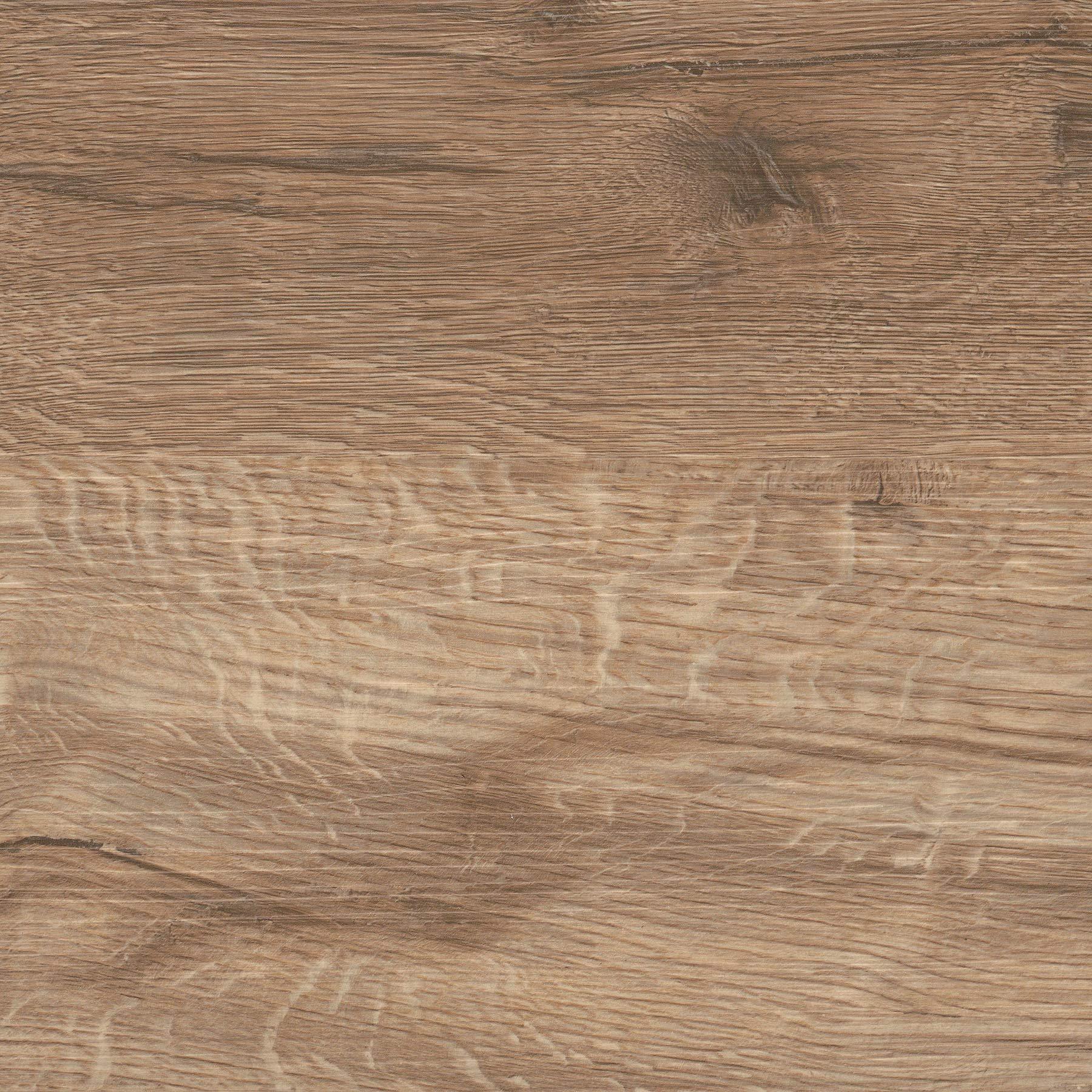 FloorPops FP3319 Pickling Peel & Stick Floor Tiles, Brown