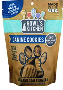 Howls's Kitchen AT314 Lamb and Blueberry Pet Treat Wafer, One size/10 oz