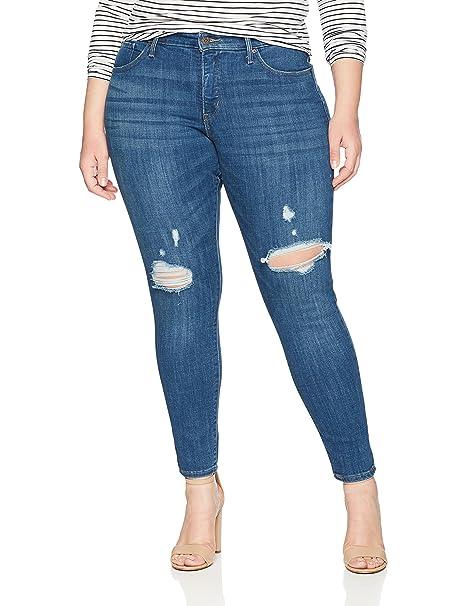 9f8f2dc3caa2b Levi's Women's 310 Shaping Skinny Jean, Blue Lightning Plus, 16 Medium