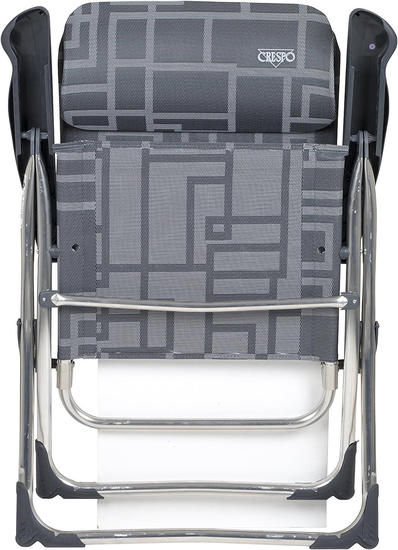 Crespo 1104962/CR Silla al-215//90/gr/áfico Compacto Color Gris