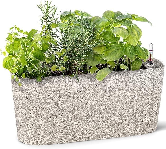 Updated 2021 – Top 10 Indoor Self Watering Garden Planters