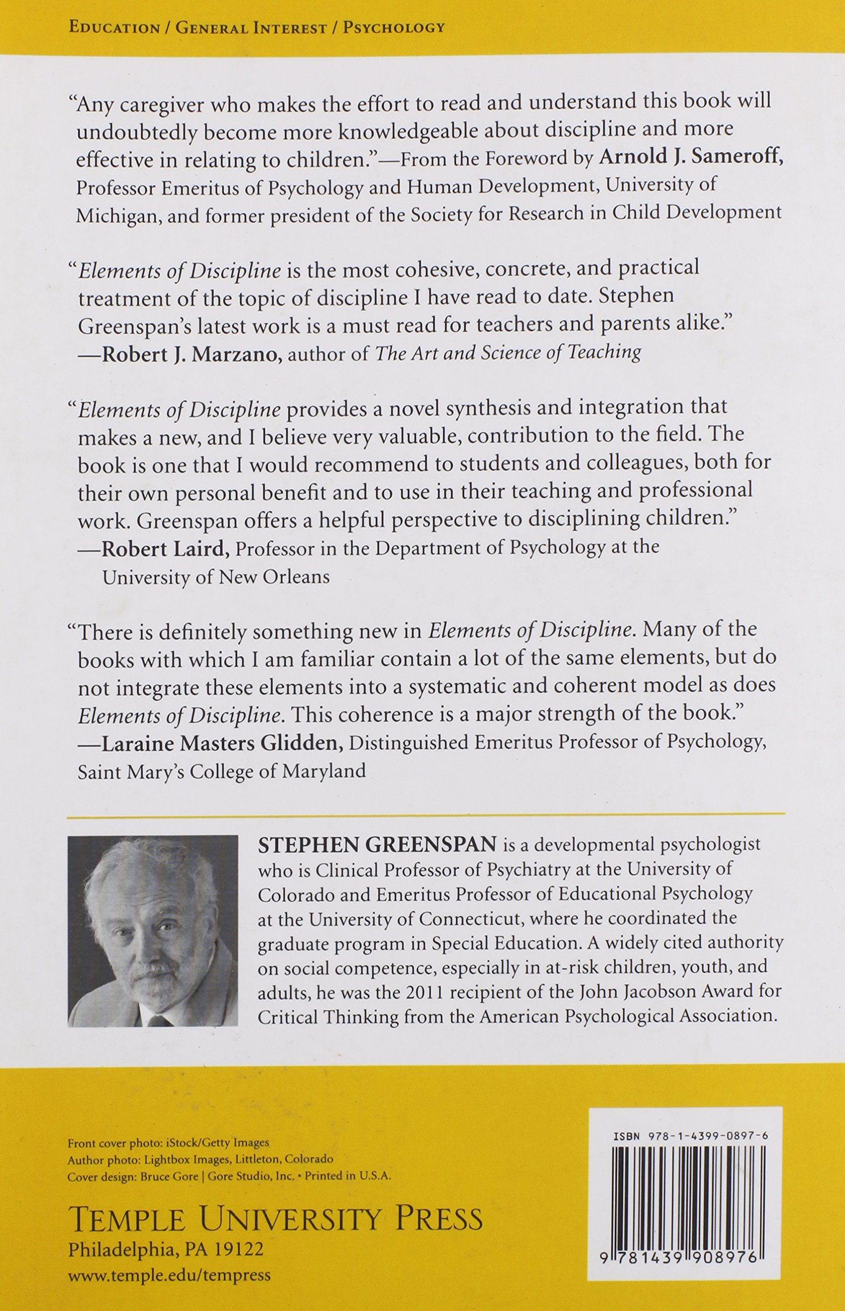 elements of discipline nine principles for teachers and parents elements of discipline nine principles for teachers and parents stephen greenspan 9781439908976 com books