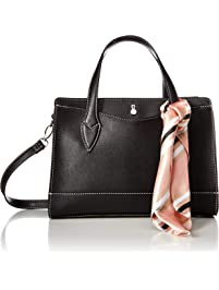 b153d794e8db London Fog Lucy Satchel-Black