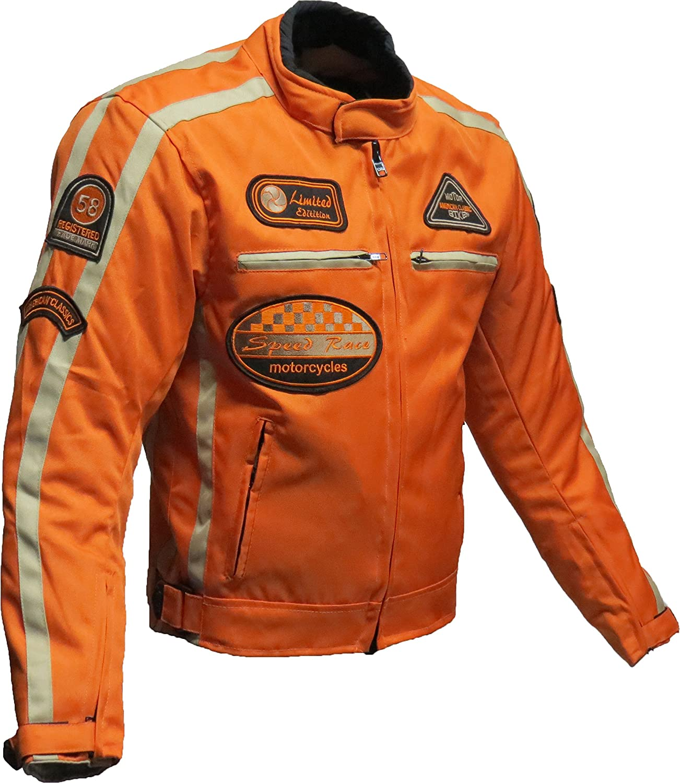 BOS Motorrad Jacke Motorrad textilejacke Motorrad Jacke XL Schwarz