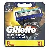 Gillette Fusion5 ProGlide Rasierklingen Für Männer, 1er Pack (1 x 8 Stück)