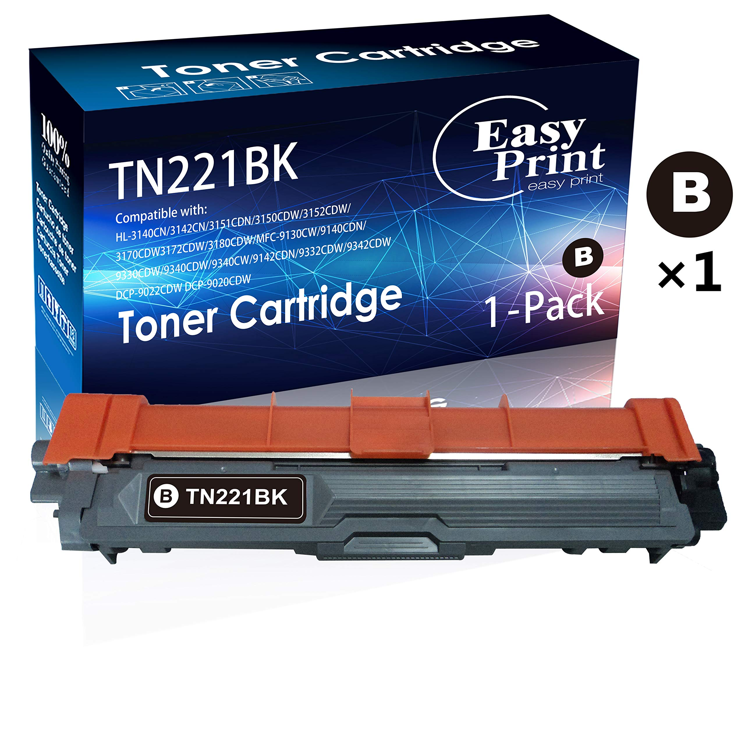 Toner Alternativo ( X1 ) Negro TN221 TN-221 TN-221BK TN221BK HL-3140CW 3150CDW 3170CDW MFC-9130CW 9140CDN 9332CDW DCP-90