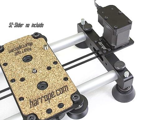 Harrope S2-SliderMotor - Motor para completar el Slider (S2-Slider).Slider motorizado Capaz de Realizar Timelapse y Video. Es Potente y Muy preciso. ...