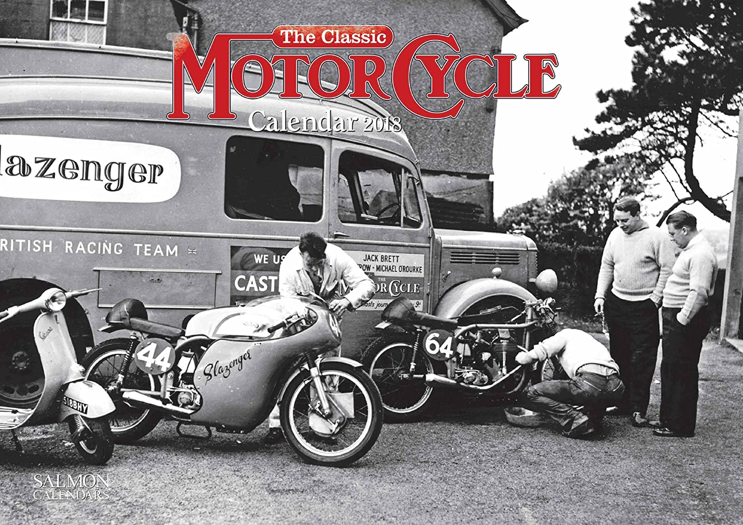 The Classic Motorcycle Calendar 2018 - Photocolour Series: Amazon.co.uk:  Office Products