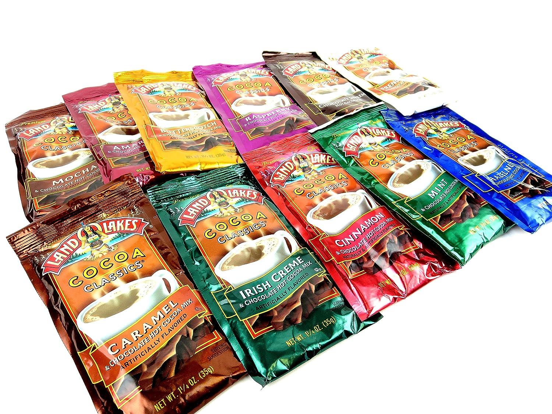 Amazon.com : Land O Lakes Cocoa Classics Hot Cocoa Mix 11-Flavor ...