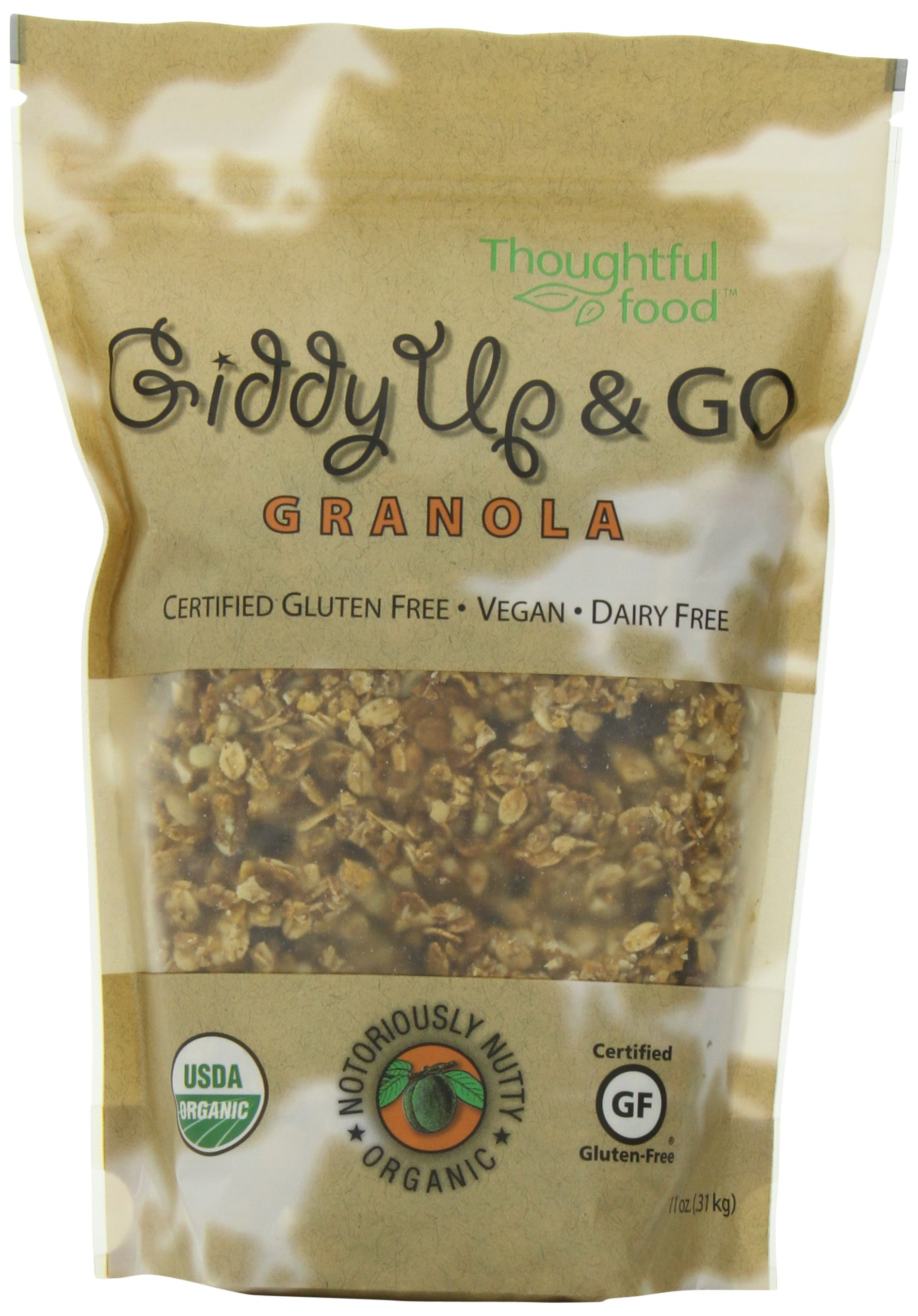 Giddy Up & Go Granola, Notoriously Nutty, 11 Ounce