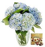 KaBloom Summer Beauty Bouquet of 6 Blue