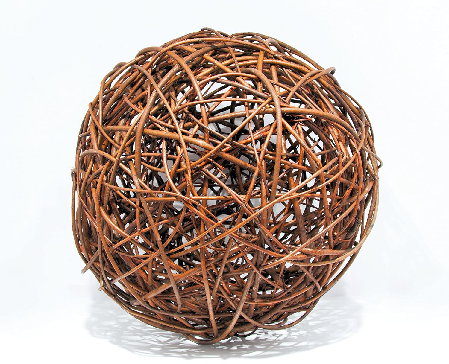 Floranica Willow ball, willow decoration ball, vine ball, garden decoration in 5 different sizes, Diameter:20cm Pemicont