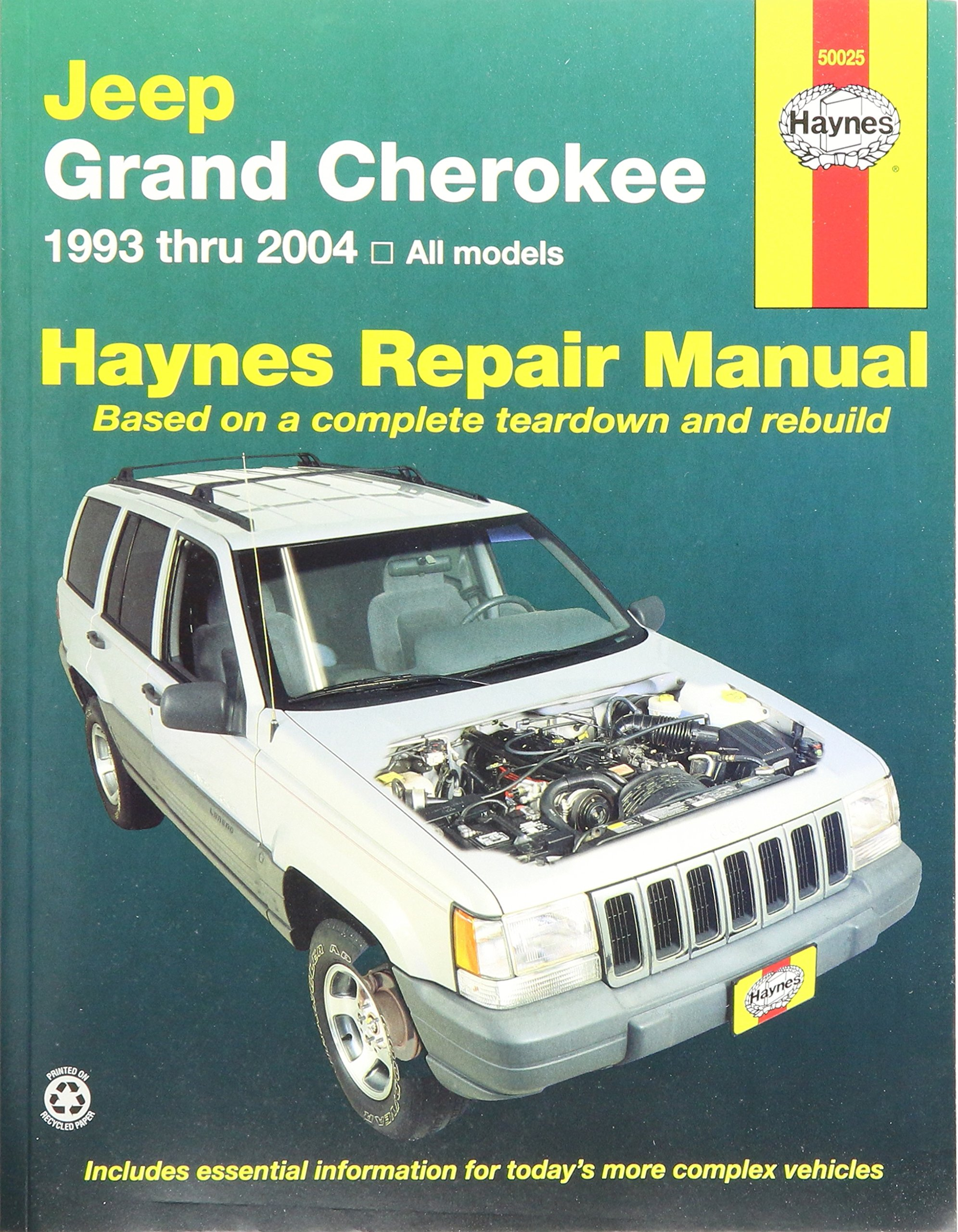 1991 Jeep Grand Cherokee Repair Manual Best User Guides And Manuals 1999 Amazon Com Haynes Publications Inc 50025 Rh Sport 2001 Xj