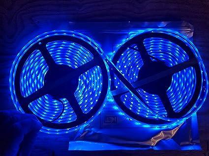 low cost 5b656 38955 Marine Submersible LED Light Strip 12V 32FT Blue, LED Rope Lights,  Waterproof Led Lights,