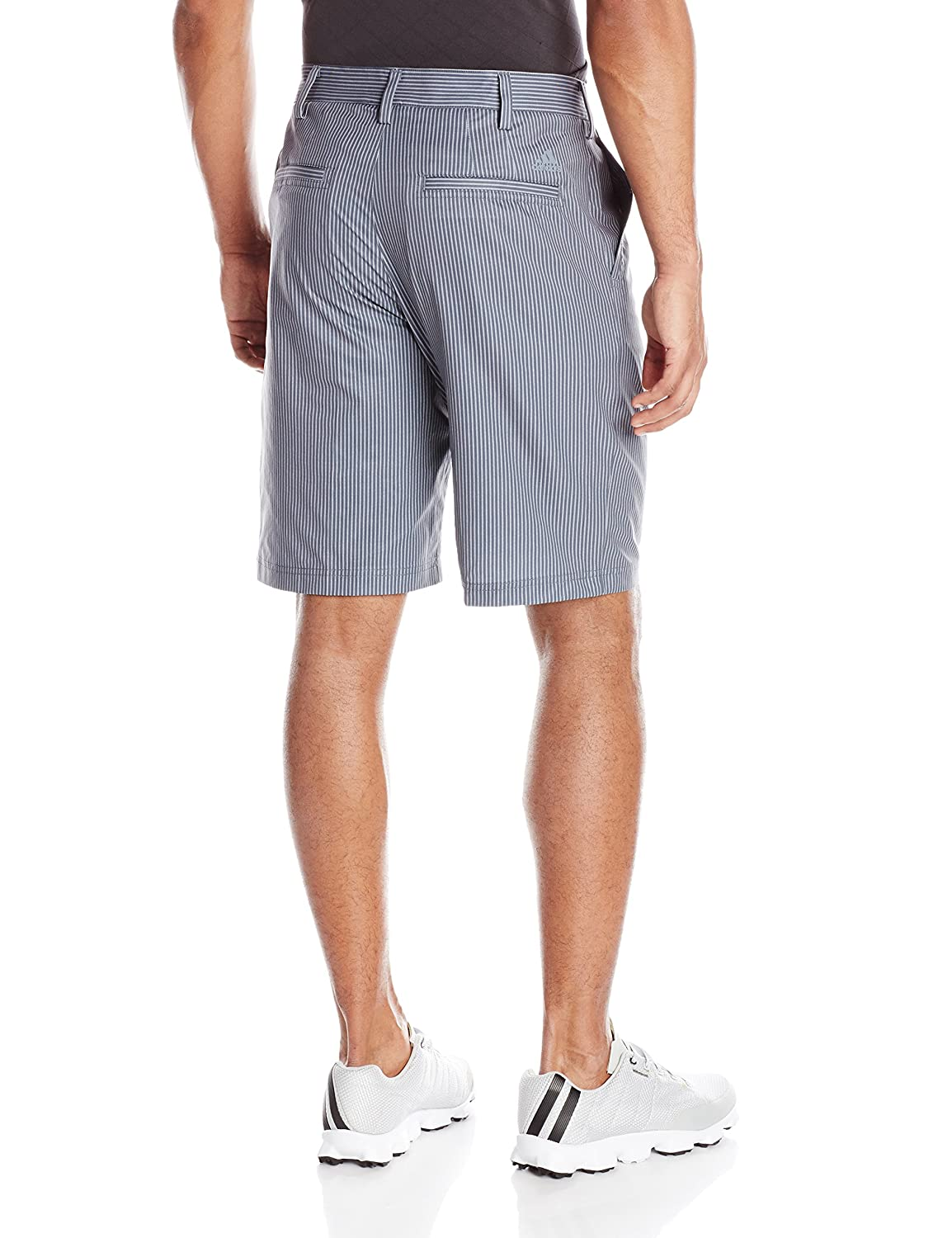 c279932e2069f Amazon.com : adidas Golf Men's Broken Pinstripe Shorts : Sports & Outdoors