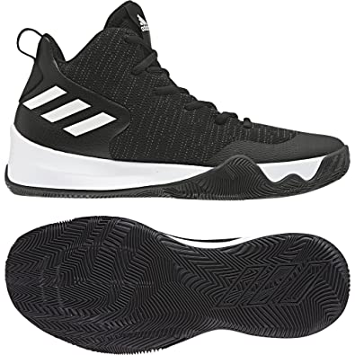 107c67a8d8f77 adidas Men s Explosive Flash Basketball Shoes  Amazon.co.uk  Shoes   Bags