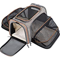 MOVEPEAK Pet Carrier for Dogs,Cats,Puppy with Airline Approved - Expandable Soft sided Pet Tote Carriers Bags,Folding Pets Kitten Totes Cats Carriers Bags,Portable Pet Supply Carrier Bags For Puppies