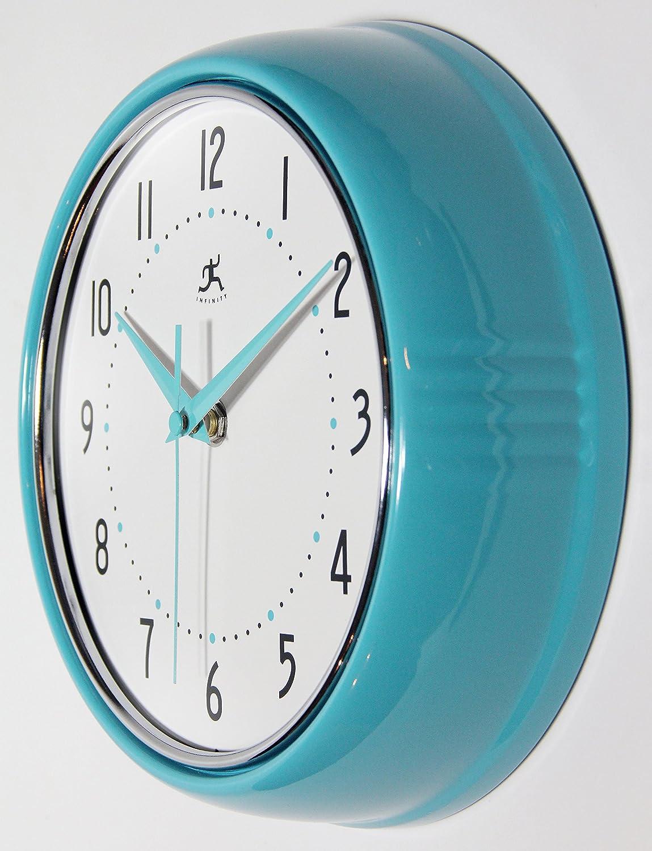 Amazon.com: Infinity Instruments 10940-TQSE Turquoise Retro 9-1/2 ...