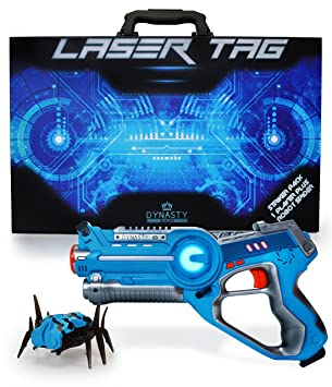 Image result for Review: Dynasty Toys Laser Tag Blaster and Robot Nano Bug Striker