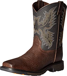 4bc4b0e1ed2 Amazon.com | Ariat Kids' Workhog Pull-on Western Boot | Boots